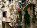zaułek w Splicie (Chorwacja)