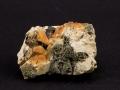 Mikroklin, Epidot, Kwarc dymny, Strzegomit