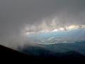 dziura w niebie na Bieszczady